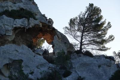 Sur la route des Baux de Provence