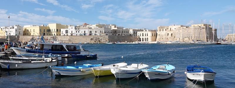 Quelques jours du côté de Gallipoli, la «belle ville» du golfe deTarente