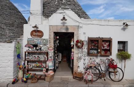 Alberobello - Quartier Rioni Monti - Artisanat