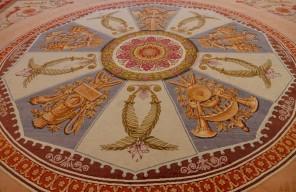 Lecce - Musée diocésain d'Art sacré - On a un peu honte, masi c'est le tapis qui a retenu toute notre attention !