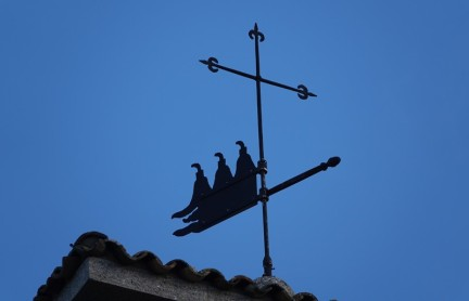 Saint Marin - Girouette symbolisant les trois tours