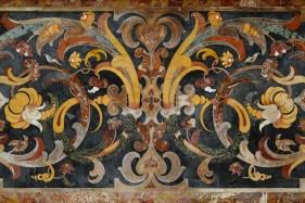 Lecce - Duomo - Marqueterie de pierre