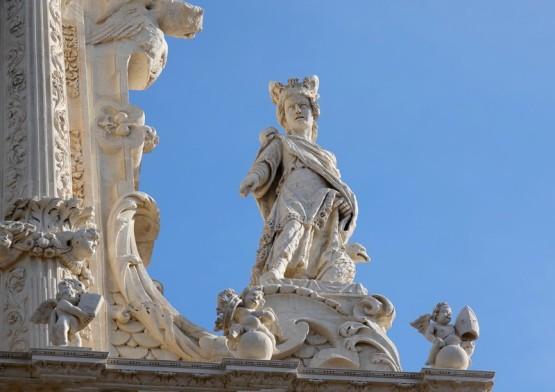Lecce - Basilique Santa Croce