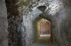 Monte Sant'Angelo - Château - Passage secret