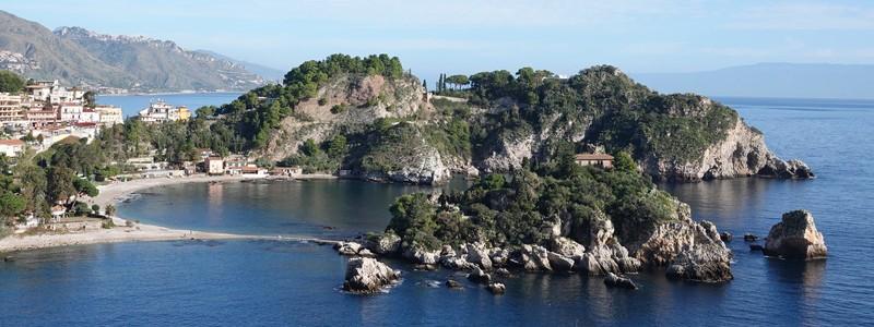 Les pieds dans l'eau, à Isola Bella!