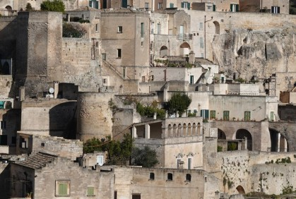 Matera - Vue depuis la via Ridola
