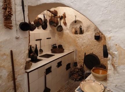 Matera - Maison-grotte de Vico Solitario
