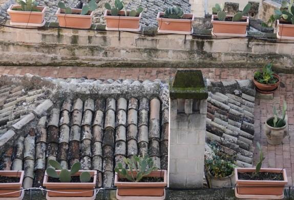 Matera - Vue depuis la montée à l'Église rupestre Madonna de Idris