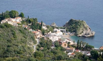 Taormina - Vue depuis le Théâtre Grec