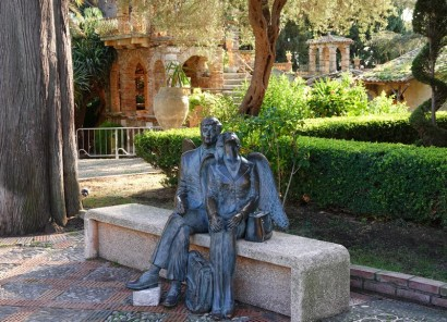 Taormina - Jardin de la Villa Communale