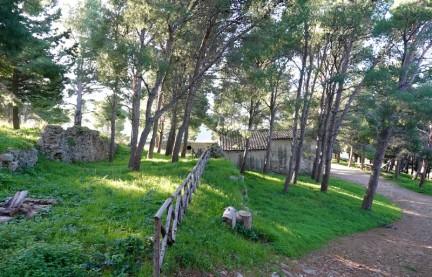 Cefalù - La Rocca - Vestiges de l'époque byzantine et du Moyen-Age