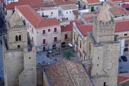 Cefalù - La Rocca - Vue sur la vieille ville et le Duomo