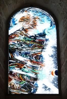 Cefalù - Duomo - Vitrail moderne
