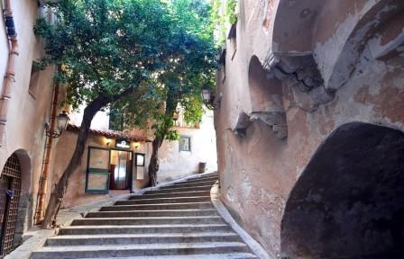 Cefalù - Vers l'ancien lavoir