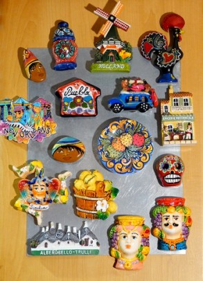 Notre camping-car - Collection de magnets