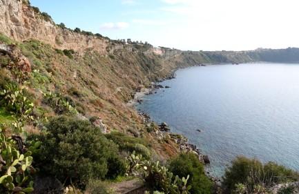 Capo di Milazzo - Vue sur la côte ouest du cap