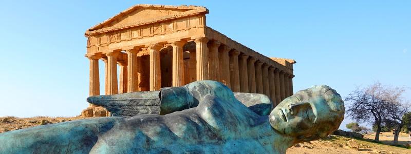 La Vallée des Temples d'Agrigente, du régime despotique des tyrans aux balbutiements de ladémocratie…