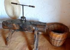 Réserve naturelle du Zingaro - Museo della Cività contadina - Machine à faie les spaghettis