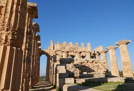 Site archéologique de Sélinonte - Temple E