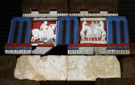 Site archéologique de Sélinonte - Musée - Reconstitution polychrome