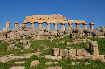 Site archéologique de Sélinonte - Temple C