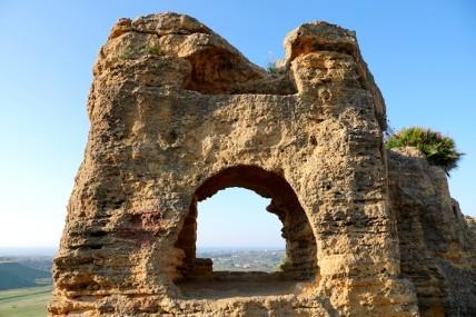Site archéologique de la Vallée des Temples - Vers le Temple de la Concorde - Nécropole paléochrétienne