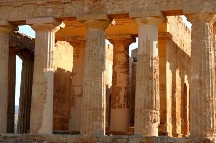 Site archéologique de la Vallée des Temples - Temple de la Concorde - Face ouest