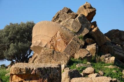 Site archéologique de la Vallée des Temples - Temple de Zeus Olympien