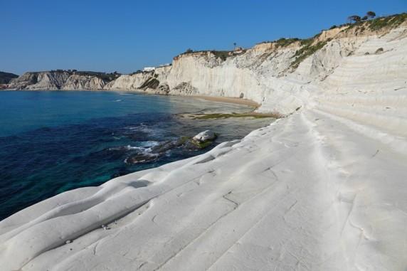 Scala dei Turchi - Vue depuis la plage
