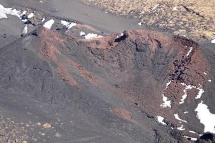 Etna sud - Cratère Silvestri supérieur