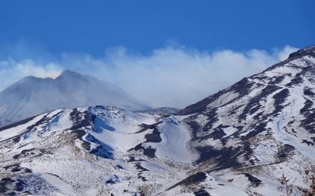 Etna nord - Vers le refuge Citelli