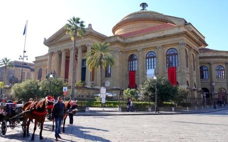 Palerme - Théâtre Massimo