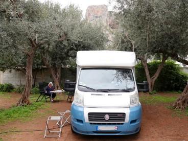 Sferracavallo - Au camping !