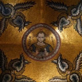 Cathédrale de Monreale - Plafond, détail