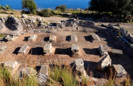 Site archéologique de Solunto - Citerne publique