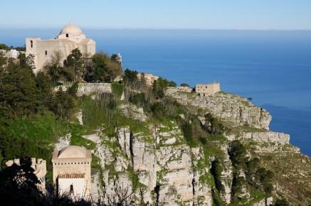 Erice - Vue depuis le Castello de Venere