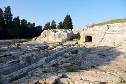 Syracuse - Parc archéologique de Néapolis - Théâtre grec