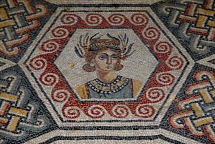 Villa romaine du Casale - Chambre de la Scène érotique