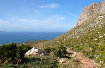 Réserve naturelle Monte Cofano - Rando autour du Monte Cofano