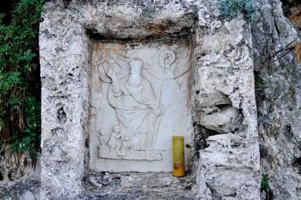 Réserve naturelle Monte Cofano - Rando autour du Monte Cofano - Ancienne chapelle votive dédiée à Saint Nicolas