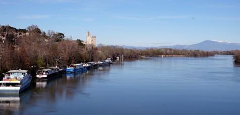 Villeneuve-lès-Avignon - Le Rhône