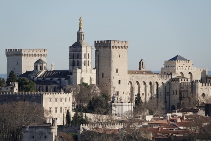 Villeneuve-lès-Avignon - Vue sur Avignon