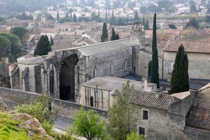 Villeneuve-lès-Avignon - Vue sur la Chartreuse