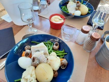 Boulbon - Café du Commerce - Aïoli