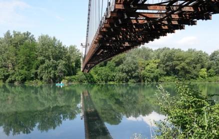 Boucle à vélo Roquemaure / Châteauneuf-du-Pape / Sorgues / voie verte du Canal / Avignon