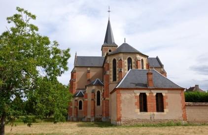 Dompierre-sur-Besbre - Boucle à vélo autour de Beaulon - Le village