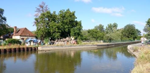 Balade à vélo de Dompierre-sur-Besbre à Digoin