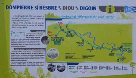 Balade à vélo de Dompierre-sur-Besbre à Digoin - Joli parcours !