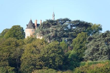 Vue sur Sancerre et son château