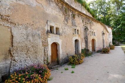 Couture-sur-Loir - La Possonière - Entrée des caves